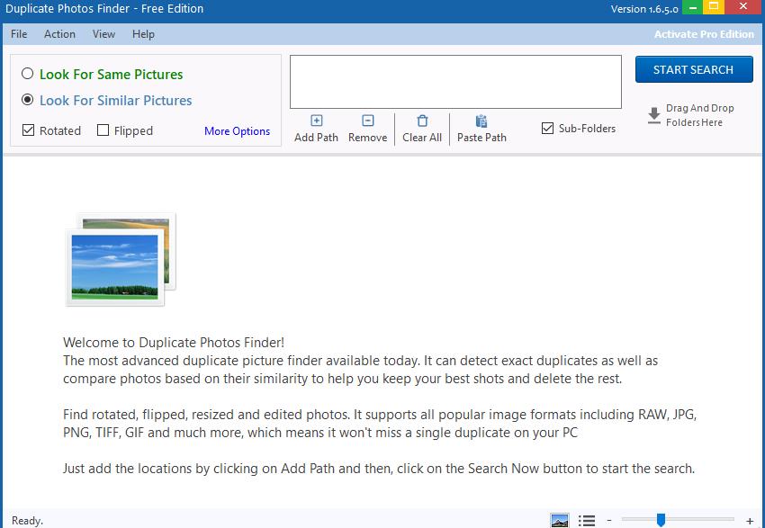 Ashisoft Duplicate Photo Finder