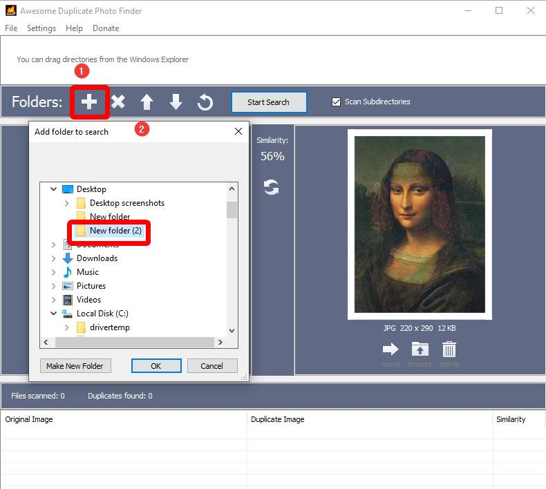 How Does Awesome Duplicate Photo Finder Work