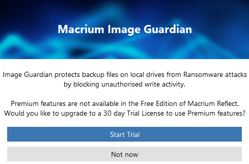 Macrium Image Guardian