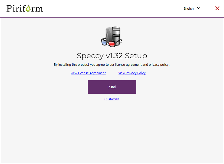 install speccy for windows