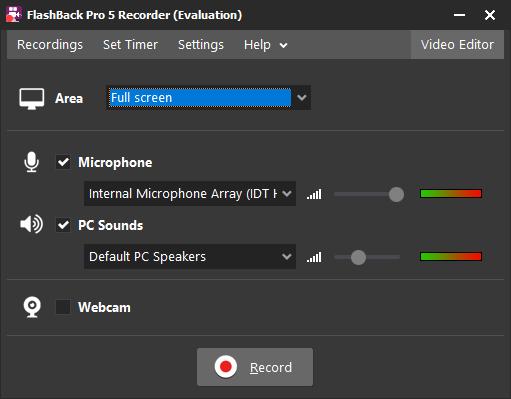flashback, windows, windows screen recorder with audio