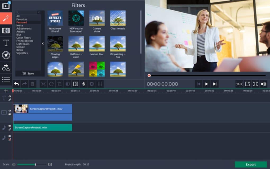 movavi screencapture studio, screen recorder software for windows