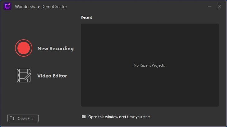 Wondershare DemoCreator, windows screen recorder with audio