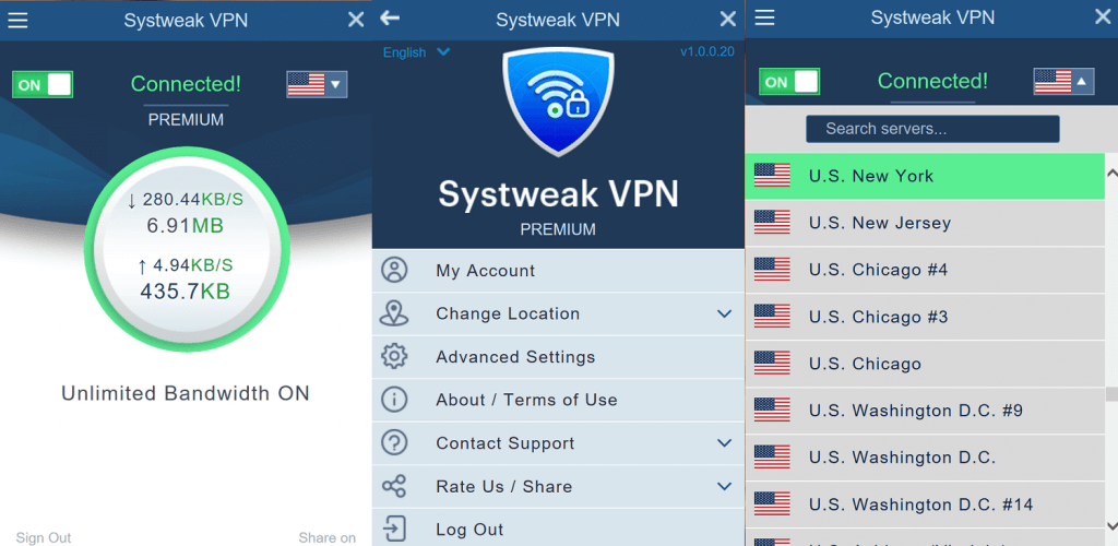 systweak vpn for windows pc