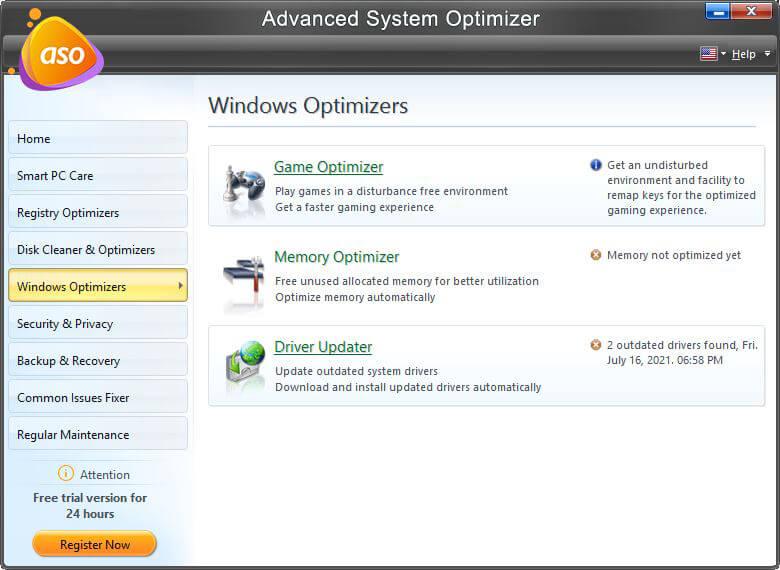 Windows Optimizers