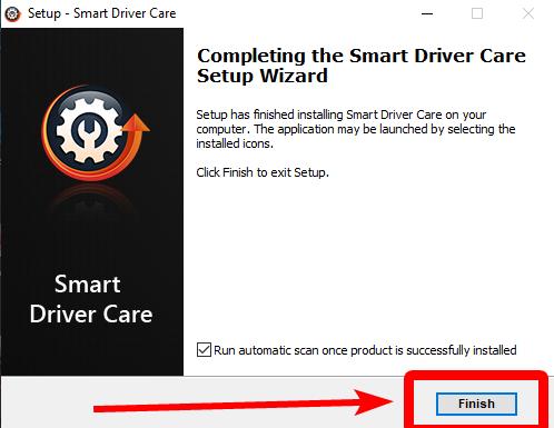 install finish in smart driver care