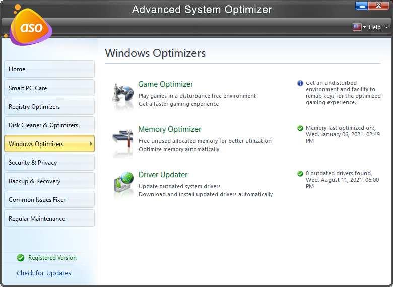 Advanced System Optimizer: best ram booster