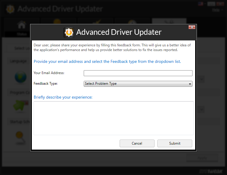 advanced driver updater experience