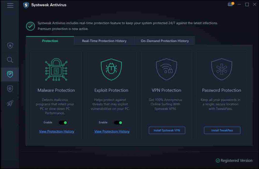 Exploit & Malware Protection