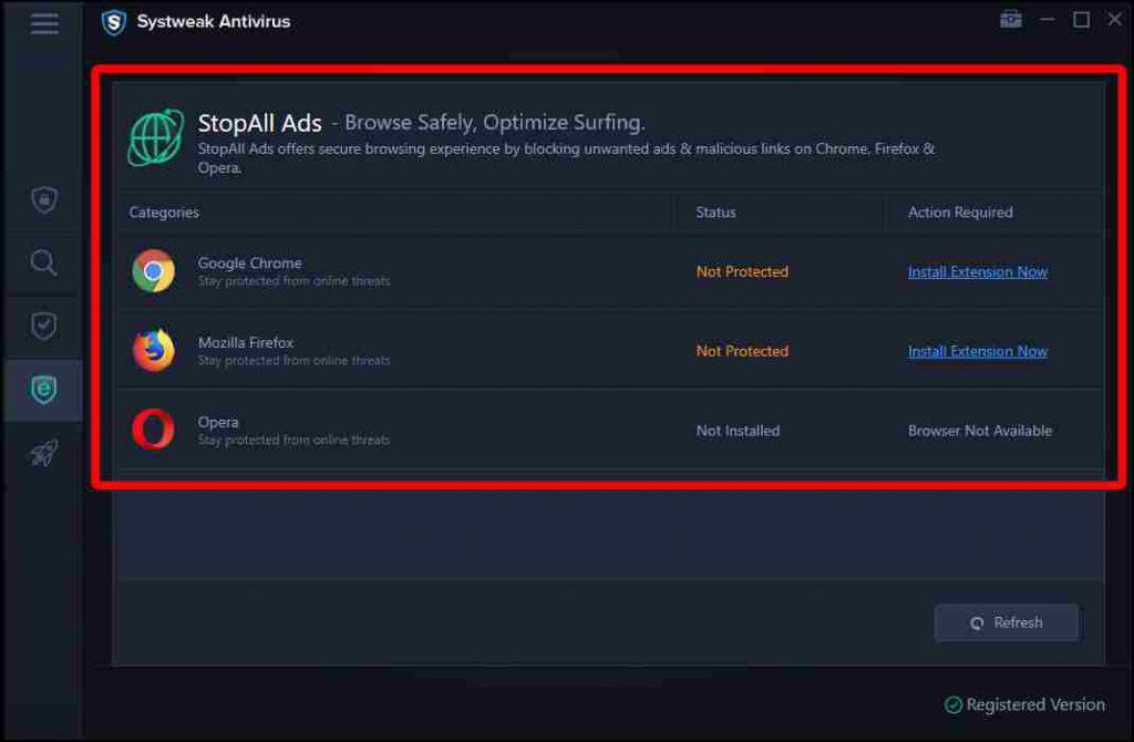 Safe Web Browsing